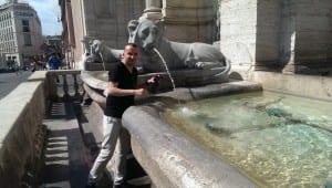 Roma'nın suyu bile tarih kokar