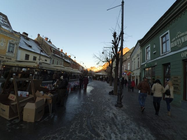 Sibiu Sokakları