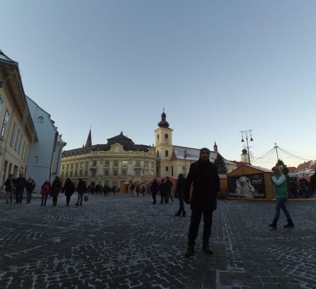 Senenin ilk karını Sibiu'da gördüm