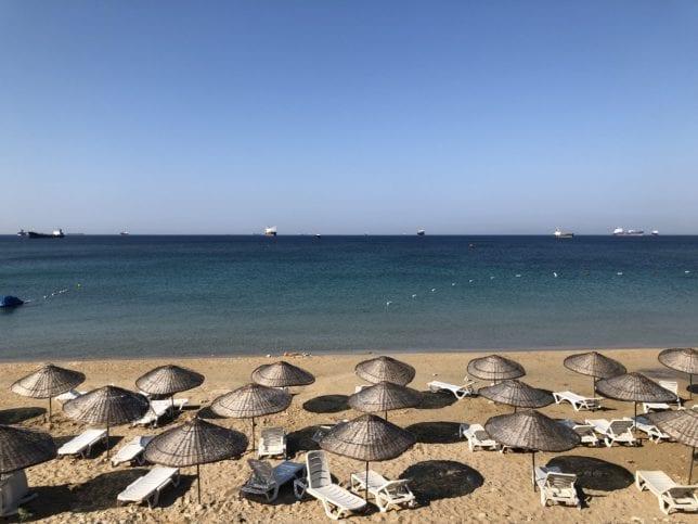 Bozcaada gezilecek yerler - Ayazma Plajı